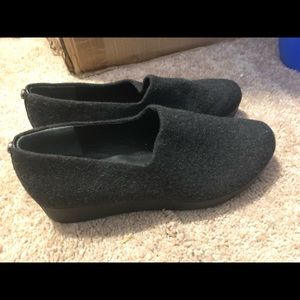 Woman's size 7.5 Charcoal Donald Pliner slip ons